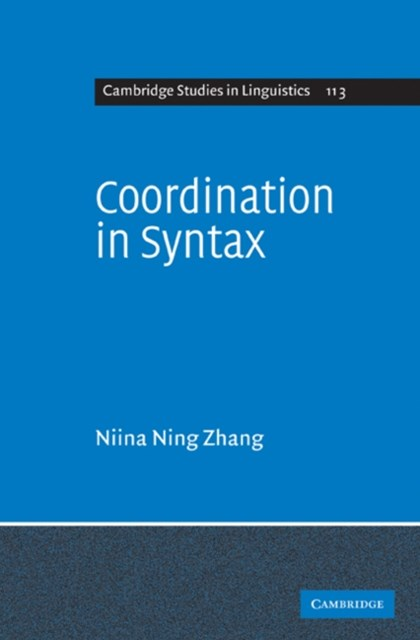 (ebook) Coordination in Syntax