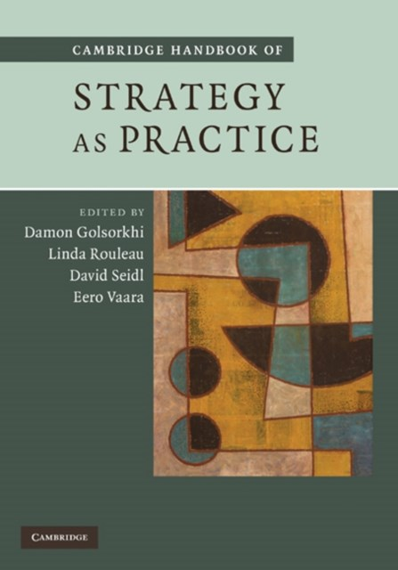 (ebook) Cambridge Handbook of Strategy as Practice