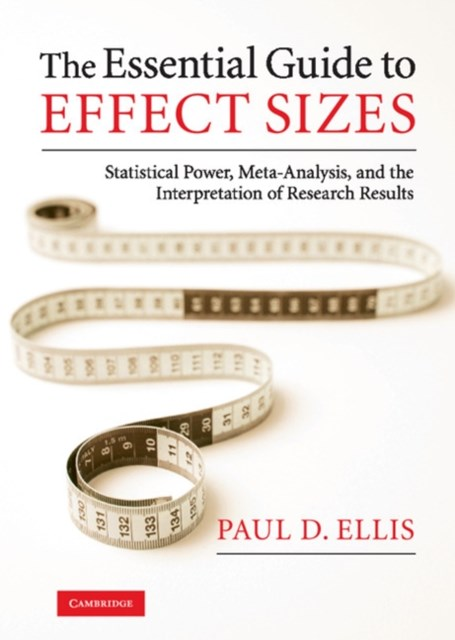 Essential Guide to Effect Sizes