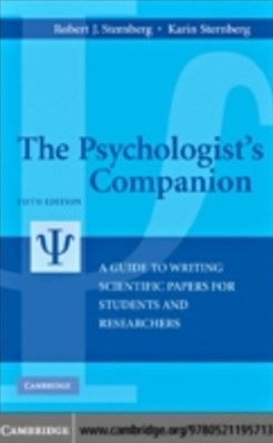 (ebook) Psychologist's Companion