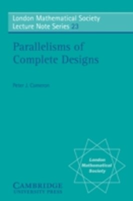 Parallelisms of Complete Designs