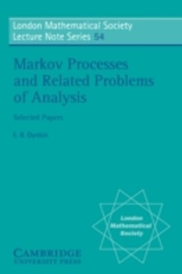 (ebook) Markov Processes and Related Problems of Analysis