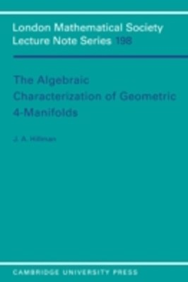 Algebraic Characterization of Geometric 4-Manifolds
