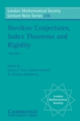 (ebook) Novikov Conjectures, Index Theorems, and Rigidity: Volume 1