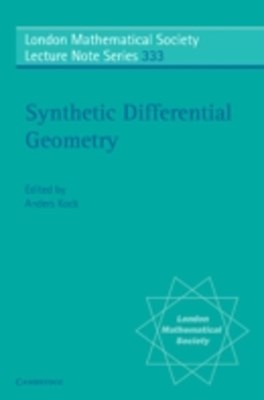 (ebook) Synthetic Differential Geometry