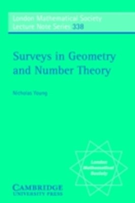 Surveys in Geometry and Number Theory