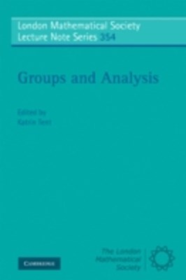 (ebook) Groups and Analysis