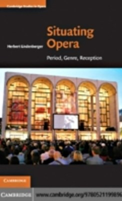 (ebook) Situating Opera