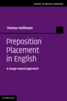 (ebook) Preposition Placement in English