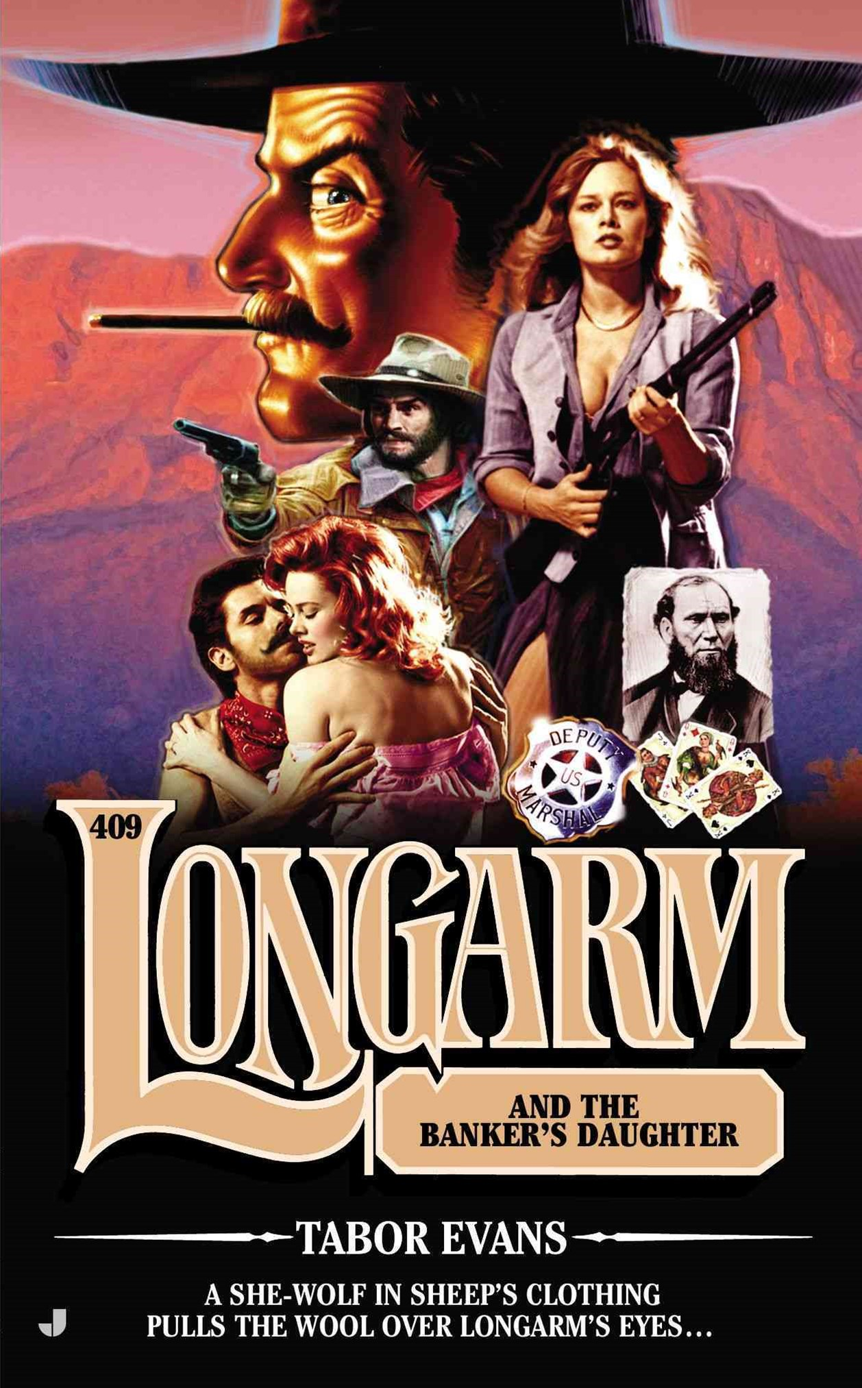 Longarm and the Banker's Daughter