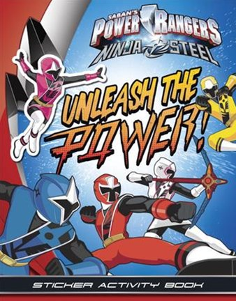 Unleash the Power Sticker! Activity Book