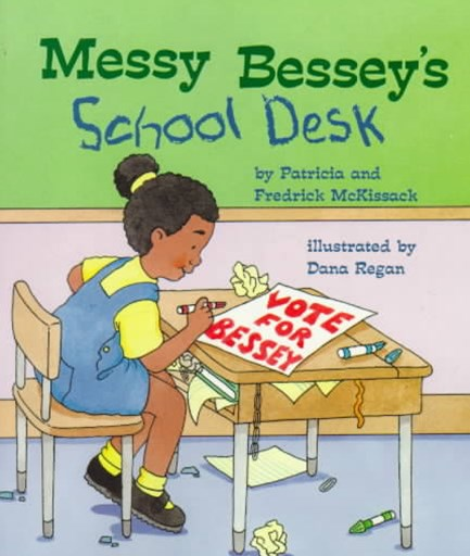 Messy Bessey's School Desk