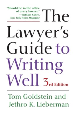 (ebook) The Lawyer's Guide to Writing Well