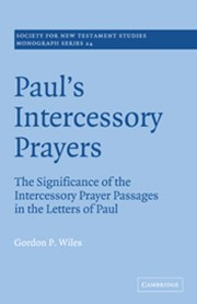Paul's Intercessory Prayers