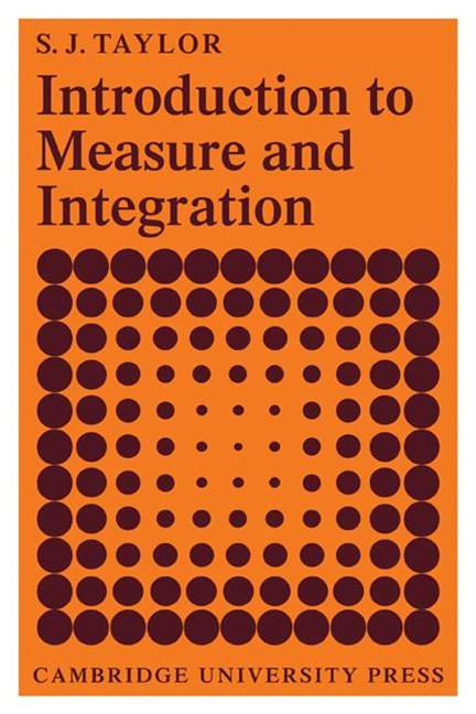 Introduction to Measure and Integration
