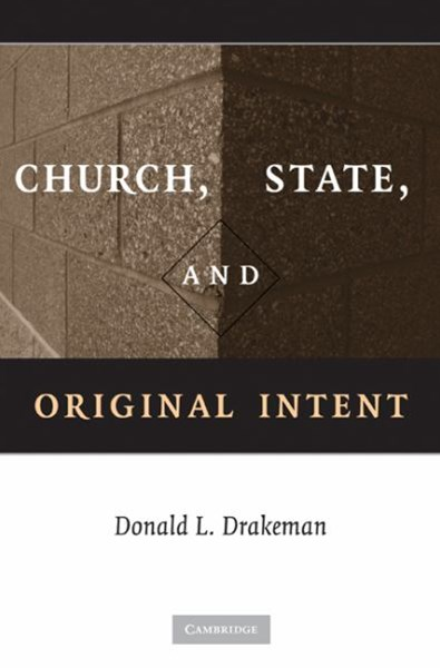 Church, State, and Original Intent