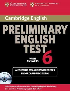 Cambridge Preliminary English Test 6 Self Study Pack (Student