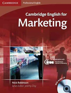 Cambridge English for Marketing Student