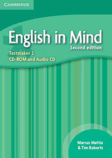 English in Mind Level 2 Testmaker CD-ROM and Audio CD
