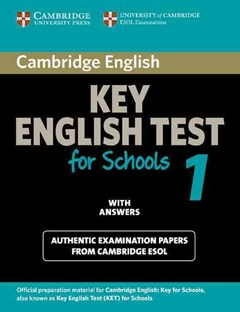 Cambridge Key English Test for Schools 1 Student