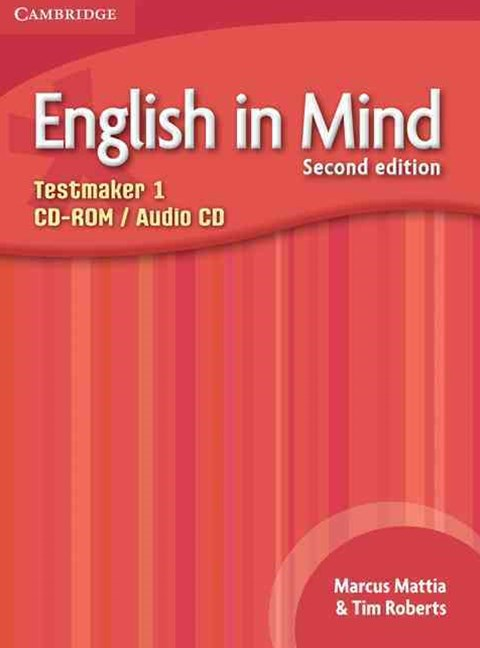 English in Mind Level 1 Testmaker CD-ROM and Audio CD
