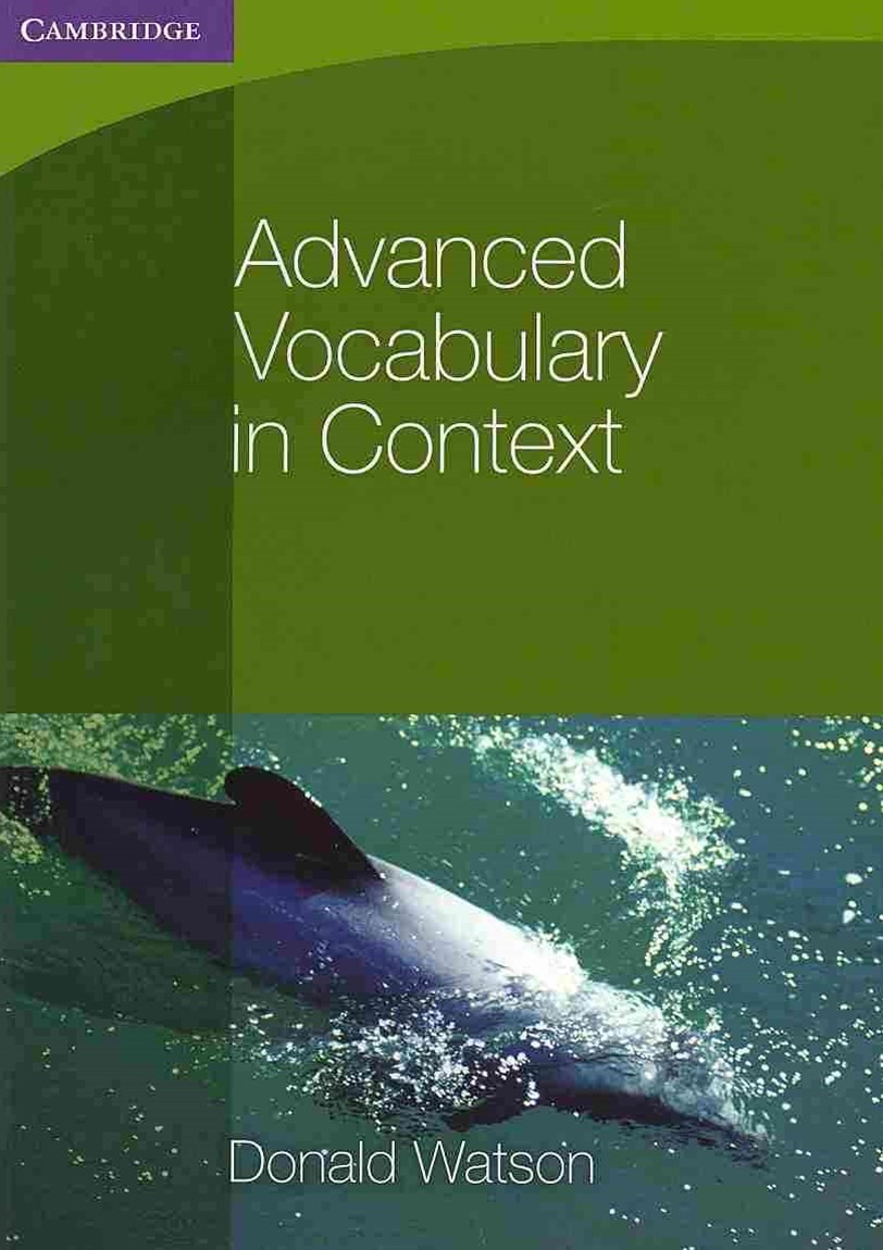Advanced Vocabulary in Context