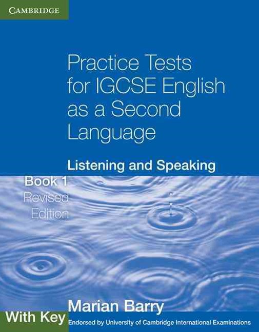 Practice Tests for IGCSE English as a Second Language: Listening and Speaking Book 1 with Key