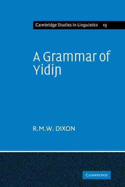 A Grammar of Yidin