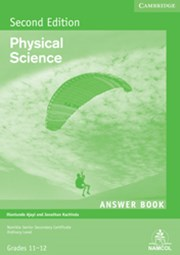 NSSC Physical Science Student's Answer Book