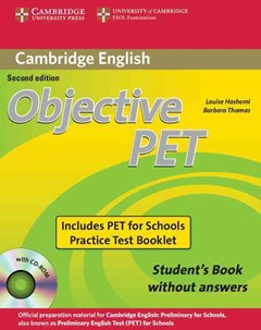 Objective PET For Schools Pack without Answers (Student
