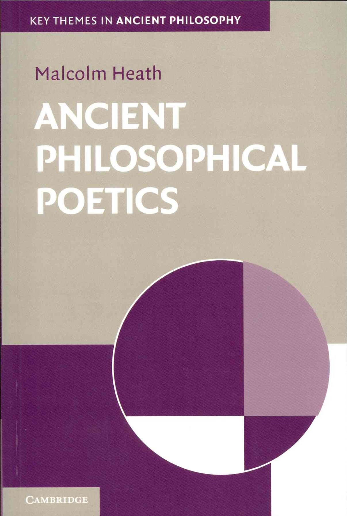 Ancient Philosophical Poetics