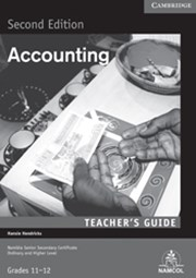 NSSC Accounting Teacher's Guide