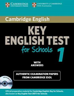 Cambridge KET for Schools 1 Self-study Pack (Student