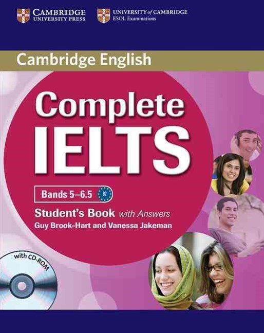 Complete IELTS Bands 5-6.5 Students Pack Student's Pack (Student's Book with Answers with CD-ROM and Class Audio CDs (2))