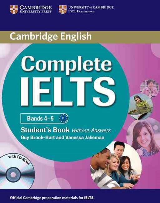 Complete IELTS Bands 4–5 Student's Book without Answers with CD-ROM