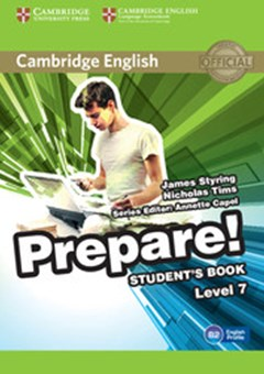 Cambridge English Prepare! Level 7 Student
