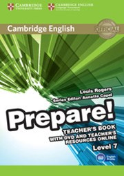 Cambridge English Prepare! Level 7 Teacher's Book with DVD and Teacher's Resources Online