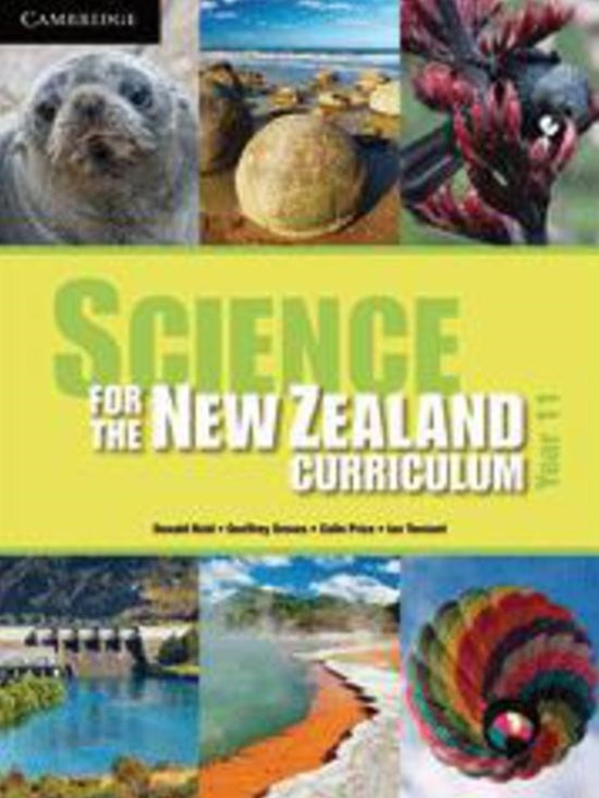 Science for the New Zealand Curriculum Year 11 Teacher CD-Rom