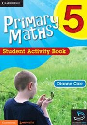 Primary Maths Student Activity Book 5 and Cambridge HOTMaths Bundle