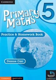 Primary Maths Practice and Homework Book 5 and Cambridge HOTMaths Bundle