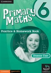 Primary Maths Practice and Homework Book 6 and Cambridge HOTMaths Bundle