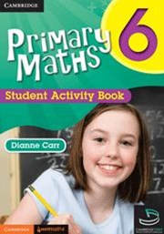 Primary Maths Student Activity Book 6 and Cambridge HOTMaths Bundle