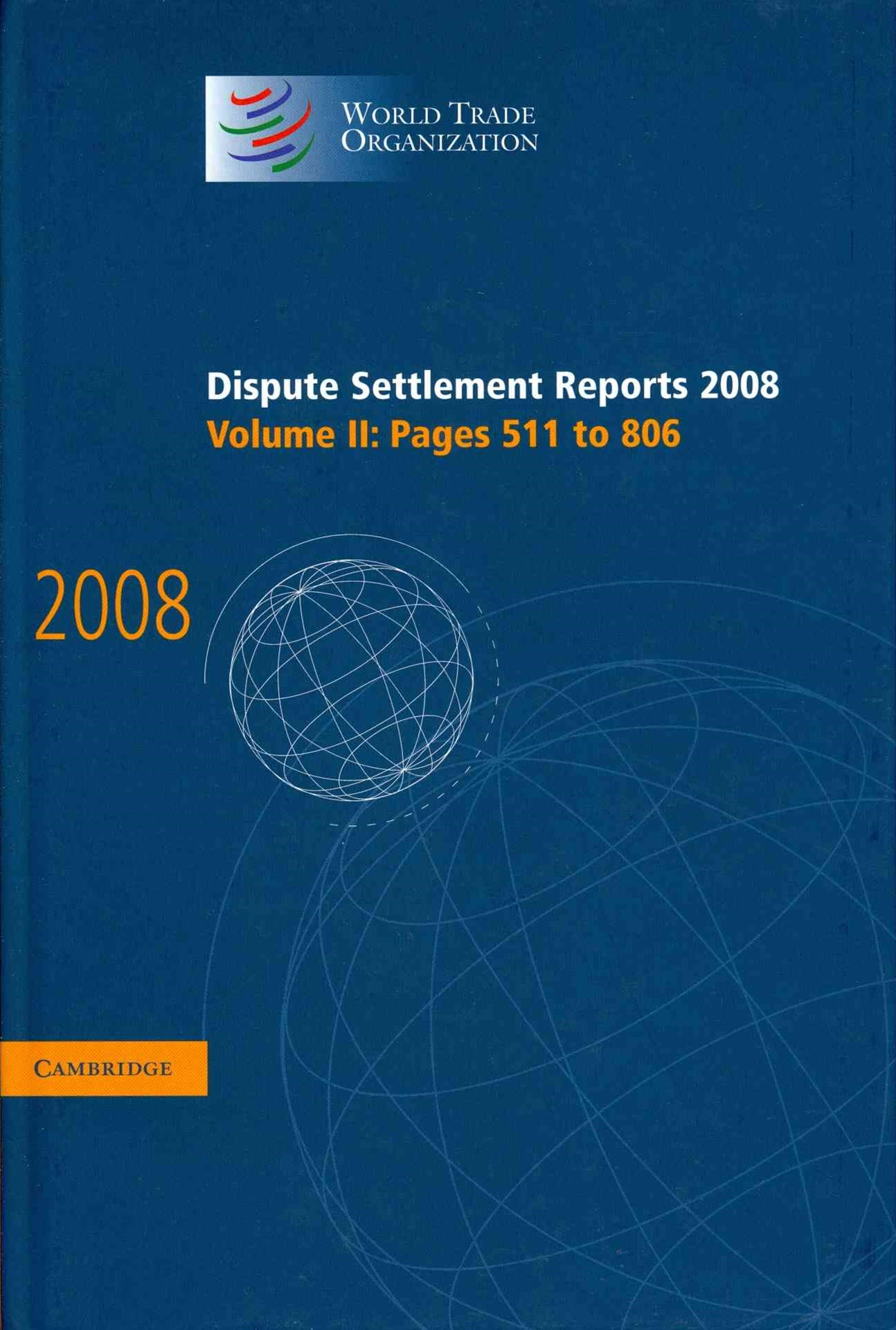 Dispute Settlement Reports 2008: Volume 2, Pages 511-806