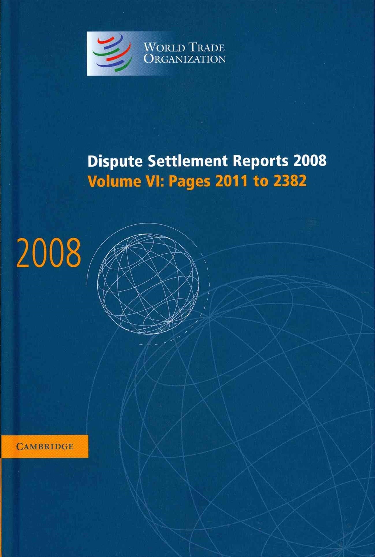 Dispute Settlement Reports 2008: Volume 6, Pages 2011-2382