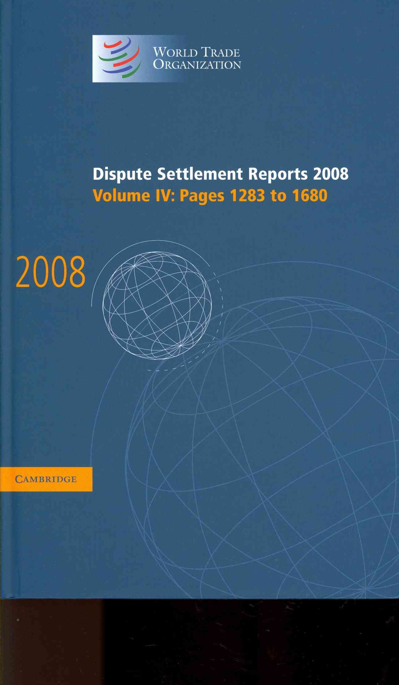 Dispute Settlement Reports 2008: Volume 4, Pages 1283-1680