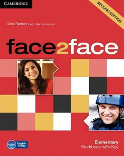 face2face Elementary Workbook with Key by Chris Redston, Gillie Cunningham (9780521283052) - PaperBack - Language English