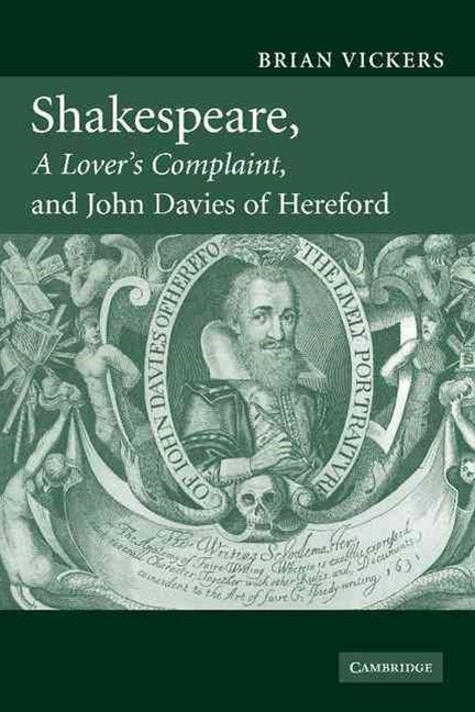 Shakespeare, 'A Lover's Complaint', and John Davies of Hereford