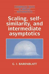 Scaling, Self-similarity, and Intermediate Asymptotics by Grigory Isaakovich Barenblatt, D. G. Crighton, M. J. Ablowitz, S. H. Davis, E. J. Hinch, A. Iserles, J. Ockendon, P. J. Olver (9780521435222) - PaperBack - Science & Technology Mathematics