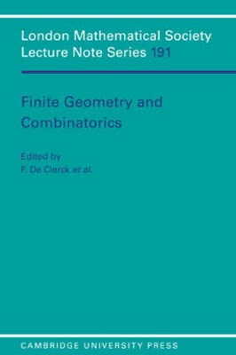 Finite Geometries and Combinatorics