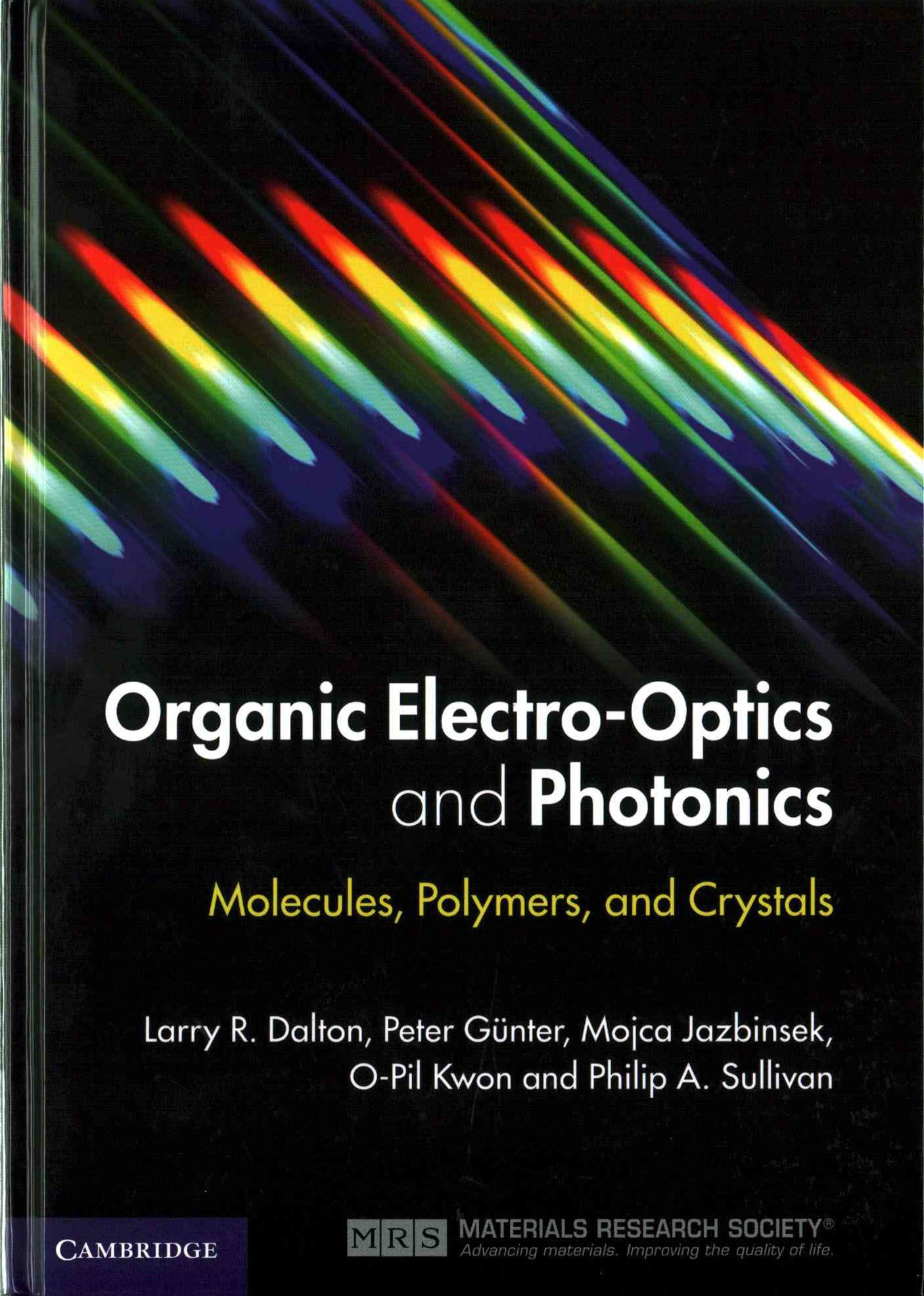 Organic Electro-Optics and Photonics